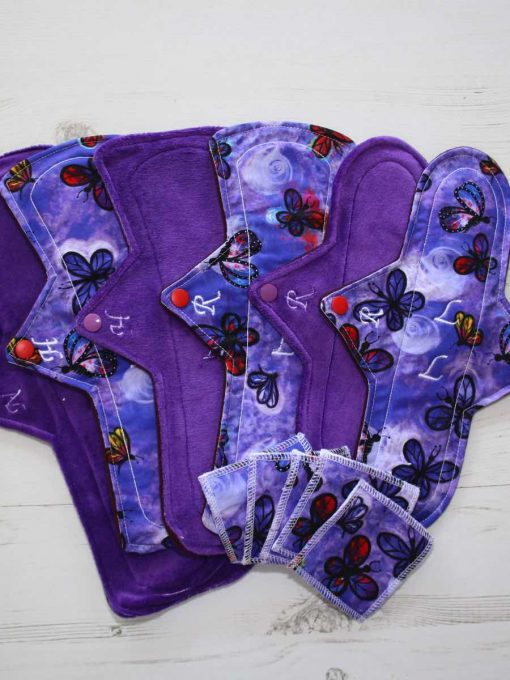 "Cloth Pad Starter Set - 10"" Regular 