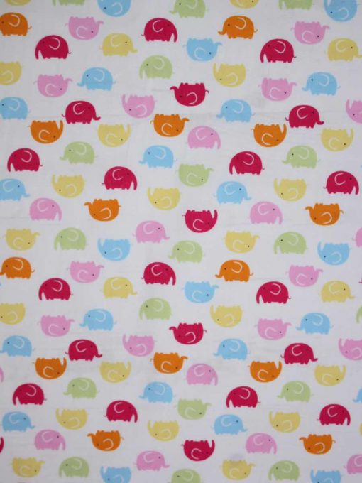Rainbow Elephants Reusable Kitchen Roll