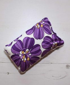 Purple Poppies - Reusable sponge
