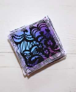 Stained Glass Ripples Make-up remover wipes - set of 5