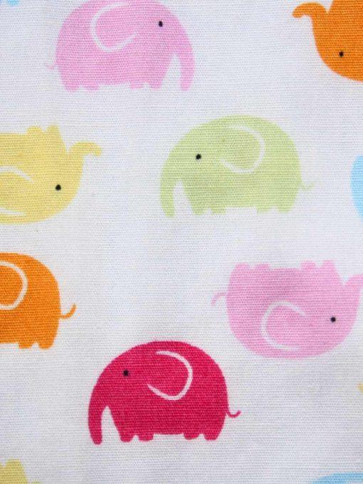 Rainbow Elephants - Reusable Kitchen Roll - Set of 8