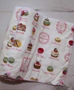 Macaroons - Reusable Kitchen Roll - Set of 8