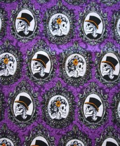 Skull Portraits Cotton