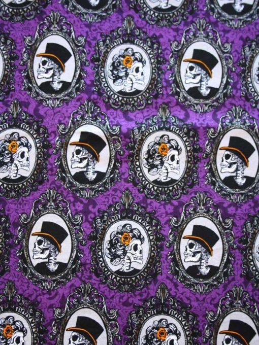 Skull Portraits Cotton