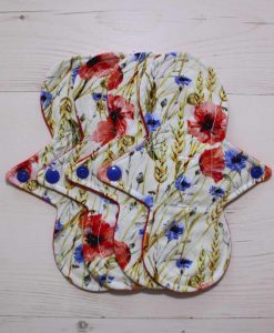 "Cloth Pad Starter Set - 4 x 8"" Slim Sub Liner 