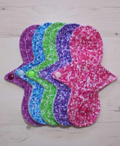 Cloth Pad Starter Set – 5 x 9″ Liner | Glitter Gang