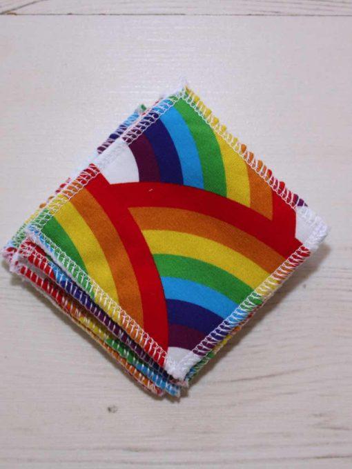 Rainbow Bridge Make-up remover wipes – set of 5