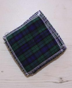 Tartan Make-up remover wipes – set of 5