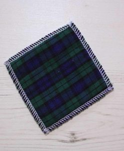 Tartan Make-up remover wipes - set of 5