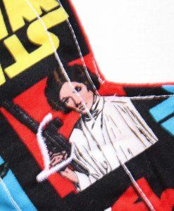 "9"" Light Flow cloth pad | Star Wars Retro Cotton | Red Wind Pro Fleece | Luna Landings | Slim Sub"
