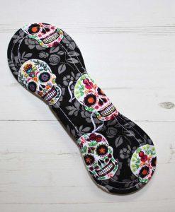 9″ Liner cloth pad   Flowered Skulls Cotton   Cream Wind Pro Fleece   Luna Landings   Slim Sub 5