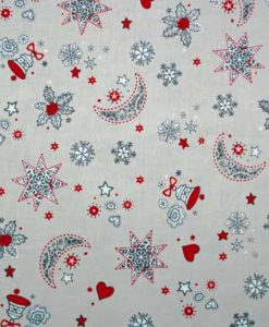 Christmas Moon and Stars Reusable Kitchen Roll
