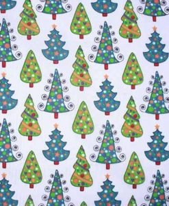 Christmas Trees Reusable Kitchen Roll