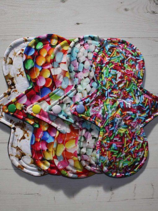 "Cloth Pad Starter Set - 5 x 8"" Regular | Sweet Shop"