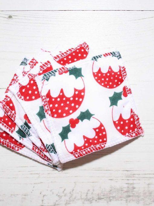Christmas Pudding Cotton Gift Box