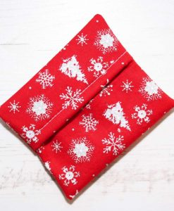 Reindeers and Snowflakes Cotton Gift Box