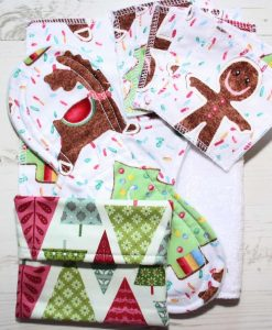 Gingerbread Man Cotton Gift Box