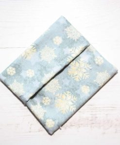 Ice Grey Snowflakes Gift Box