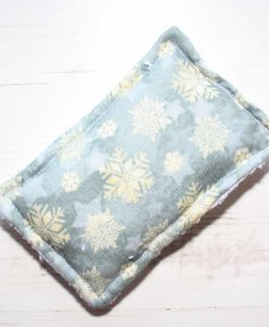 Ice Grey Snowflakes Gift Box