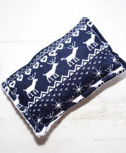 Navy Christmas Knit Gift Box