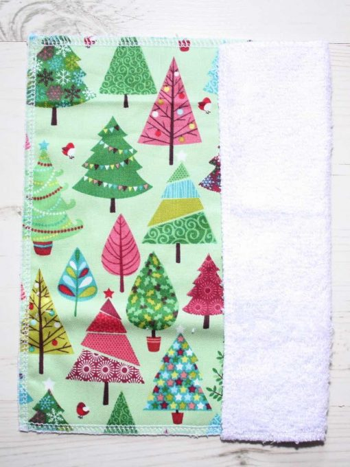 Retro Festive Trees Gift Box