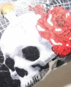 Skull and Candles - Reusable sponge