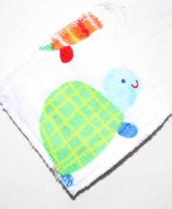 Colourful Tortoises Make-up remover wipes – set of 5