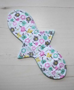 11″ Light Flow cloth pad | Flower Breeze Cotton | Aqua Wind Pro Fleece | Luna Landings | Slim Sub 1
