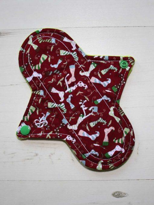 8″ Regular Flow cloth pad   Christmas Stockings Cotton   Lemongrass Wind Pro Fleece   Luna Landings   Sub 1