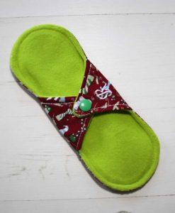 8″ Regular Flow cloth pad   Christmas Stockings Cotton   Lemongrass Wind Pro Fleece   Luna Landings   Sub 4
