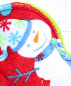 8″ Regular Flow cloth pad | Snowman Plush | Lemongrass Wind Pro Fleece | Luna Landings | Slim Sub 2