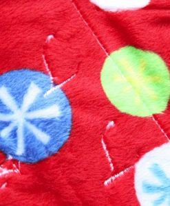 "9"" Regular Flow cloth pad | Snowflake Plush | Lemongrass Wind Pro Fleece | Luna Landings | Slim Sub"