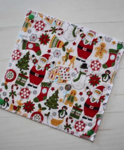 Christmas Collection - Reusable Kitchen Roll - Set of 7