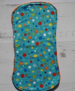 Bright Dot Burp Cloth