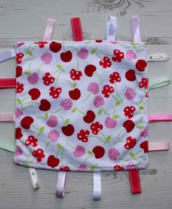 Cherry Plush Taggie 1