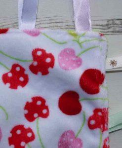 Cherry Plush Taggie 2