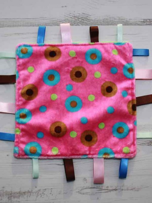 Pink Allsorts Taggie 1