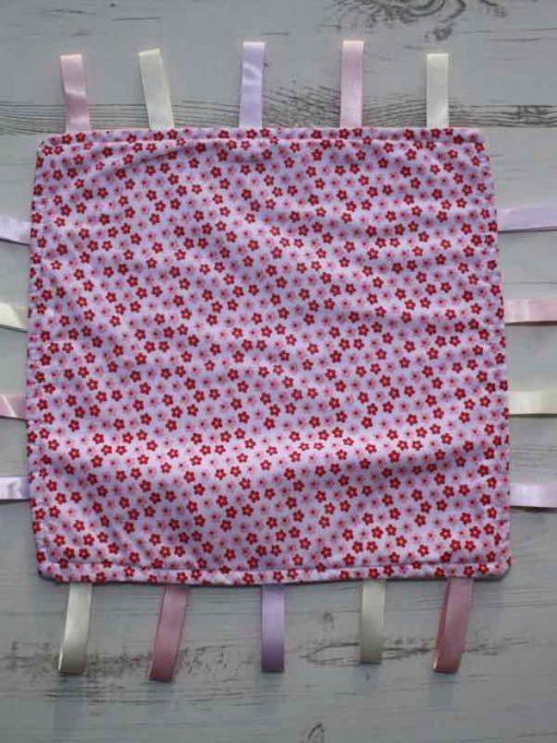 Pink Flower Taggie 1