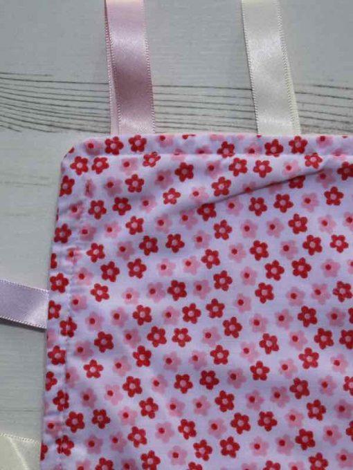 Pink Flower Taggie 2