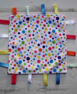 Rainbow Dots Taggie
