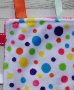 Rainbow Dots Taggie 2