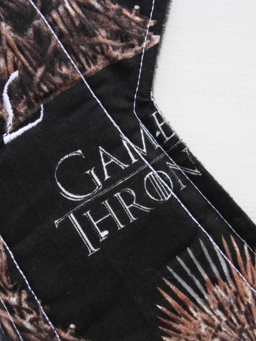 12″ Heavy Flow cloth pad | Game of Thrones The Iron Throne Cotton Jersey | Grey Wind Pro Fleece | Luna Landings | Double Flare 2