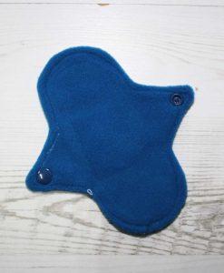 6″ Regular Flow cloth pad | Solar Systems Planets Black Cotton | Blue Wind Pro Fleece | Luna Landings | Sub 3