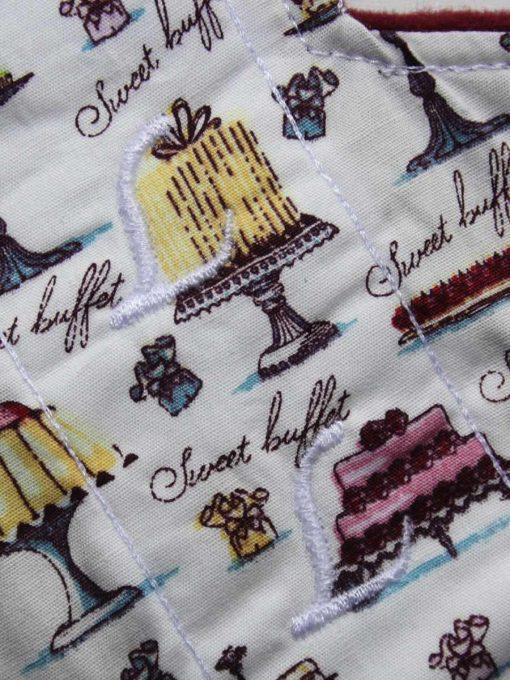 8″ Liner cloth pad | Cakes Galore Cotton | Wine Wind Pro Fleece | Luna Landings | Slim Sub 2