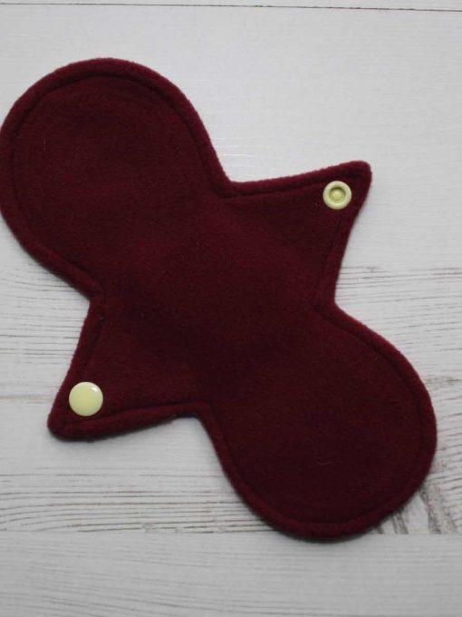 8″ Liner cloth pad | Cakes Galore Cotton | Wine Wind Pro Fleece | Luna Landings | Slim Sub 3