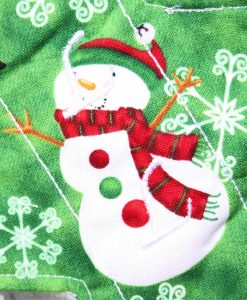 8″ Liner cloth pad | Santa and Snowman Cotton | Cream Wind Pro Fleece | Luna Landings | Slim Sub 2