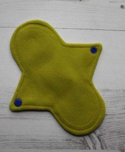 8″ Regular Flow cloth pad   Silver Unicorns Cotton   Yellow Wind Pro Fleece   Luna Landings   Sub 3