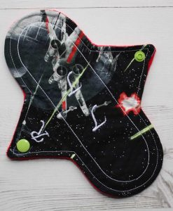 8″ Regular Flow cloth pad | Star Wars X Wing Cotton | Red Wind Pro Fleece | Luna Landings | Sub 1
