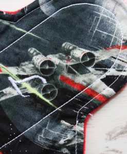 8″ Regular Flow cloth pad | Star Wars X Wing Cotton | Red Wind Pro Fleece | Luna Landings | Sub 2