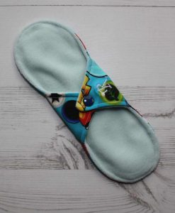 9″ Regular Flow cloth pad   Pokemon on Green Cotton Jersey   Mint Wind Pro Fleece   Luna Landings   Sub 4